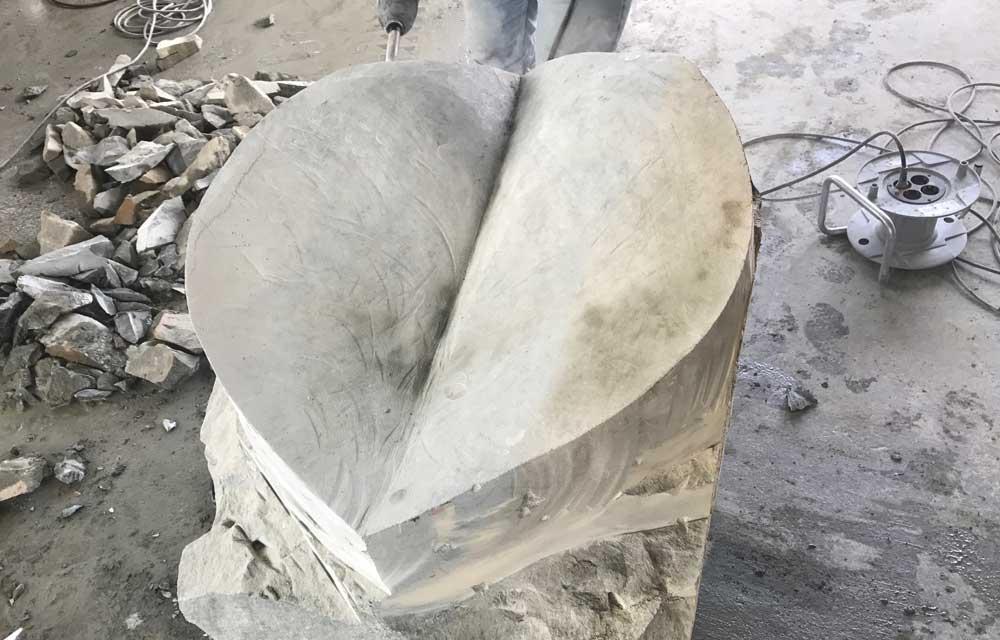 Skulptur ist für den Bad Bayersoiener See