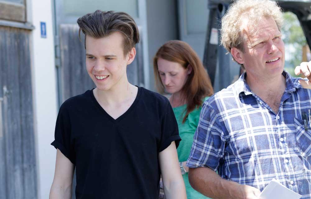 Veranstalter Ulrich Mosandl und Sohn Matthias