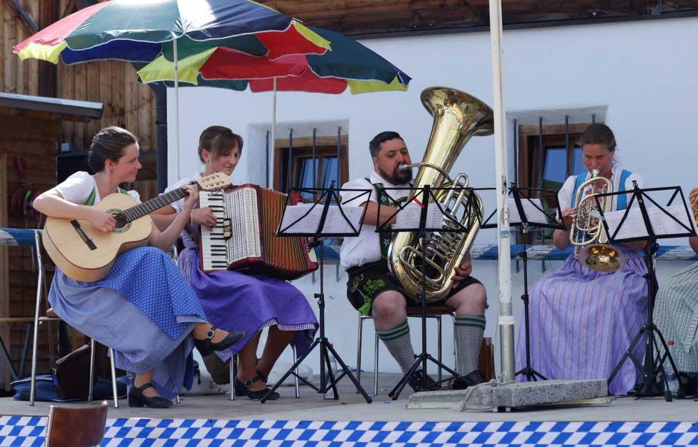 Musikkapelle Kerschler Tanzlmusi, bayrische Volksmusik