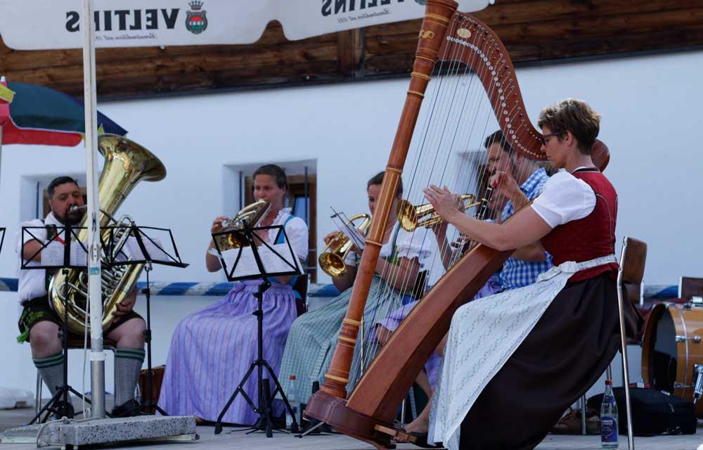 Harfe bayrische Volksweisen