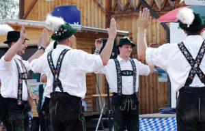 Schuhplattler in Bayern