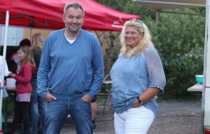 Bürgermeisterin Gisela Kieweg mit Ehemann