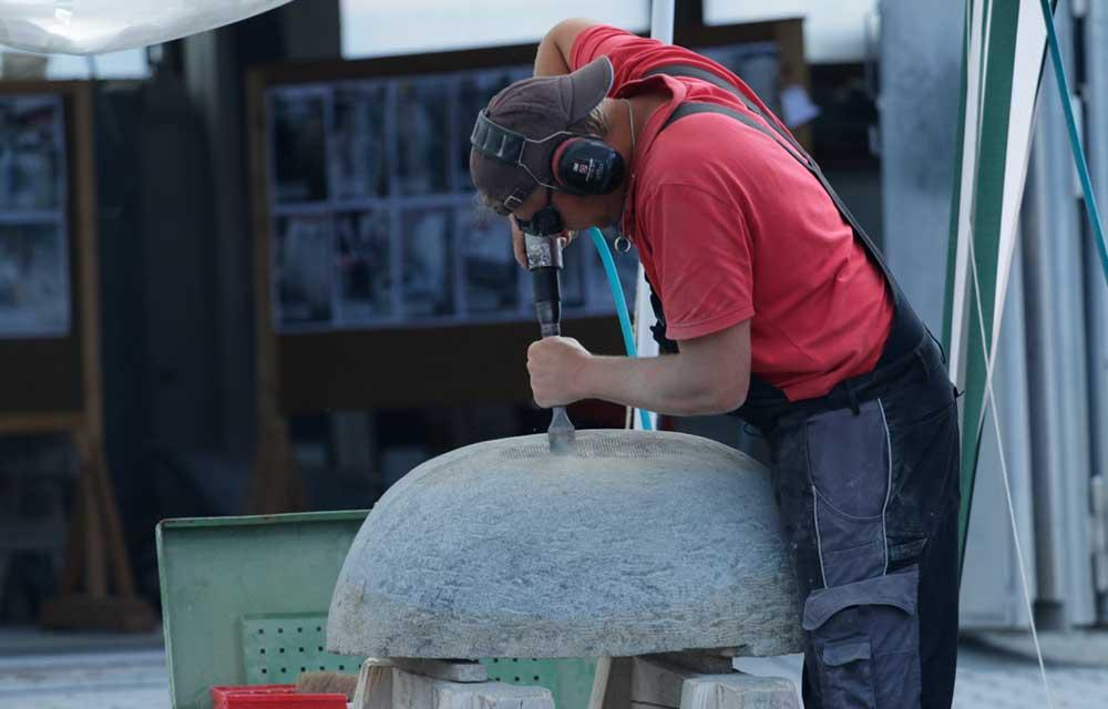Bildhauer Henrik Heiden