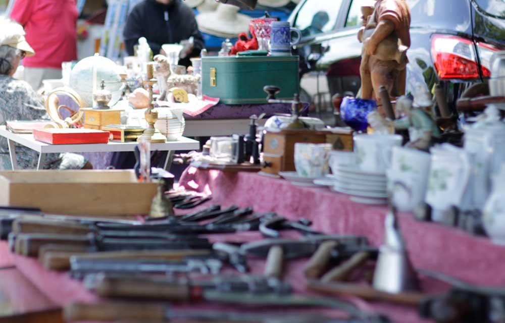 Flohmarkt in Bad Bayersoien
