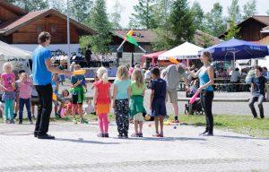 Kinder-Workshop Jonglieren