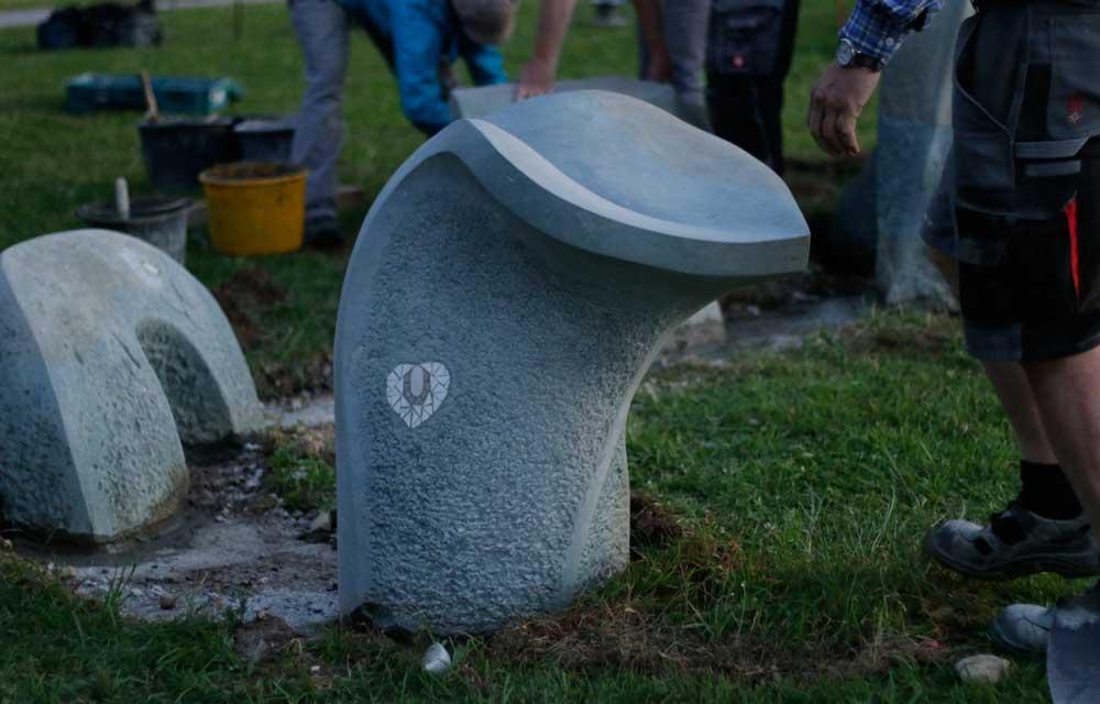 Das war ein langer Tag für die Bildhauer in Bad Bayersoien