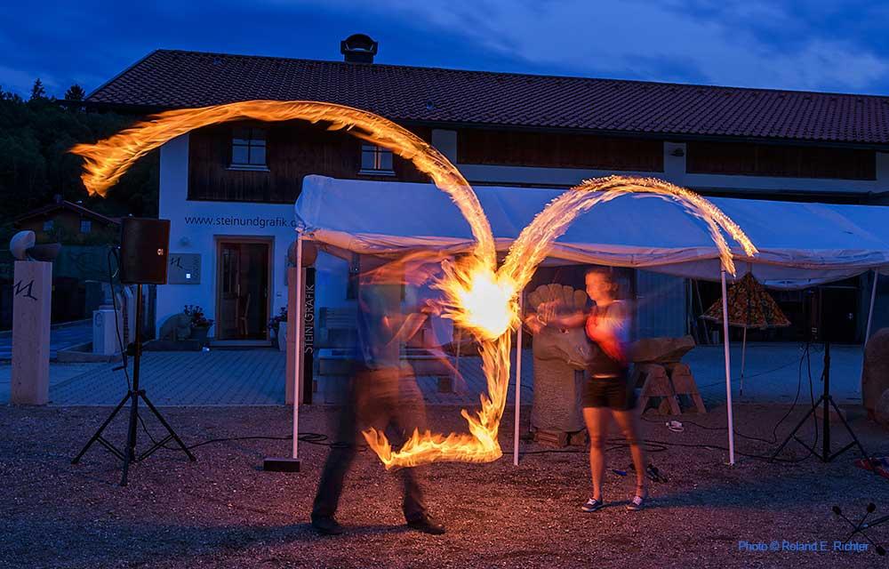 Feuereffekte
